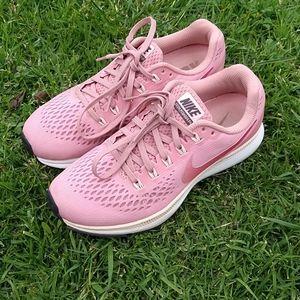 Nike Air Zoom Pegasus 34 Rust Pink Running Shoes